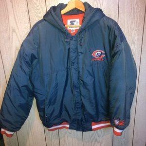 Vintage NFL Starter Chicago Bears coat jacket